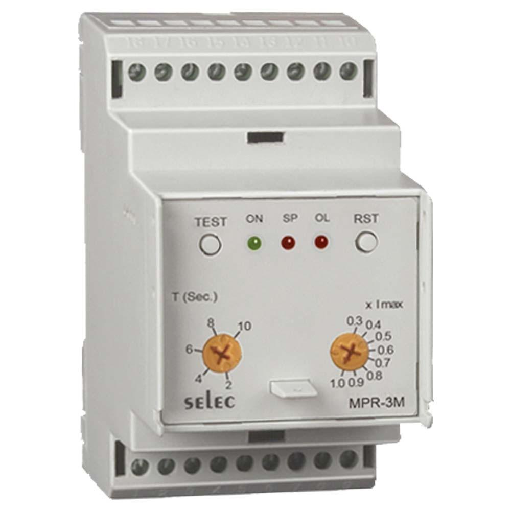 Selec MPR-3M-230V Analogue Motor Protection Relay