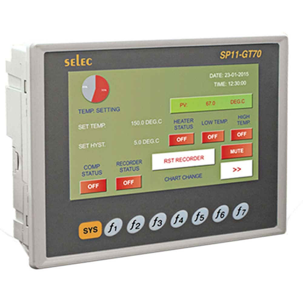 SP11-GT70 HMI with Resistive Touch-screen