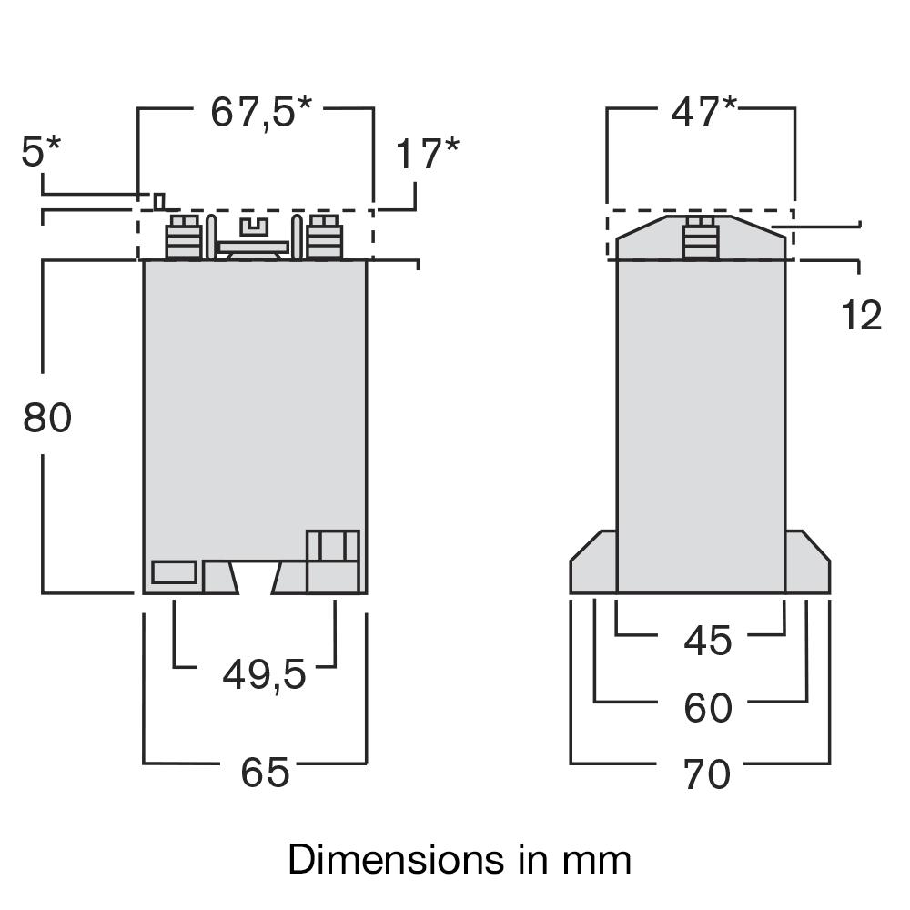 TAQA CT dimensions