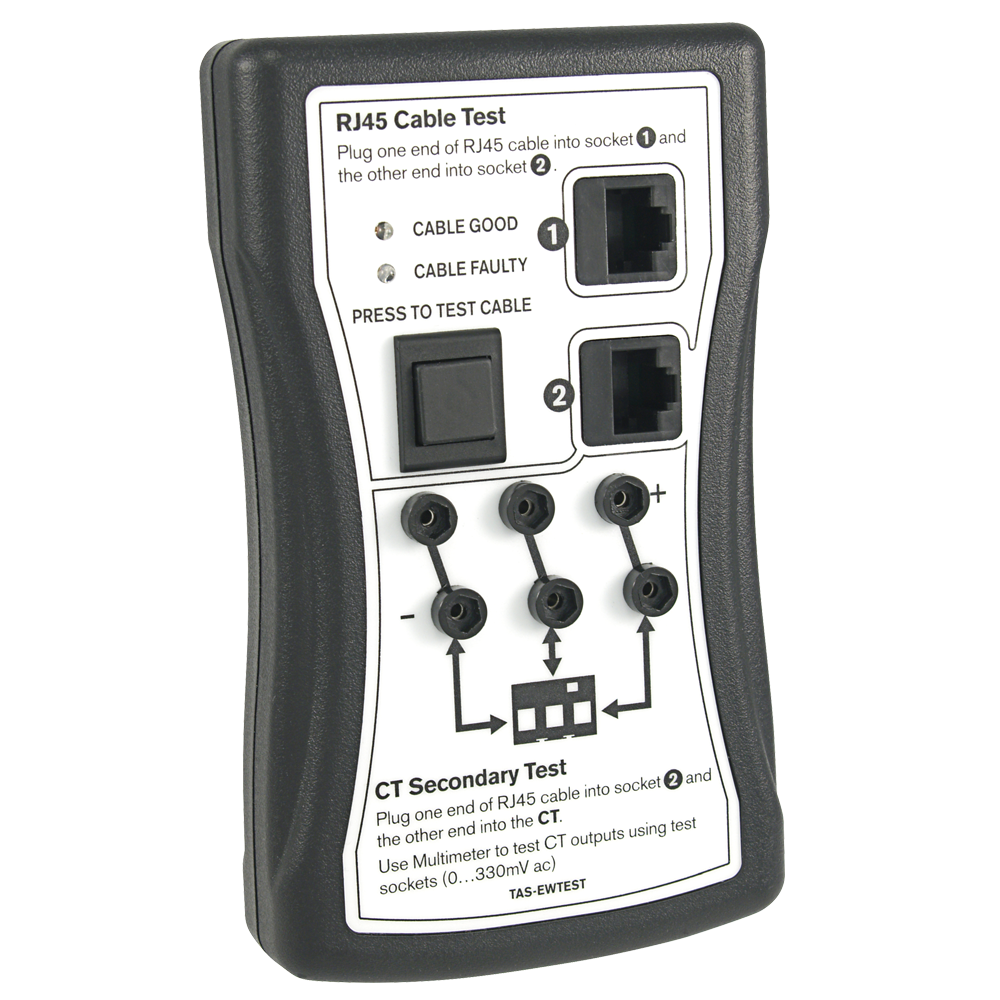 TAS-EWTEST - CT Output and RJ45 Lead Tester