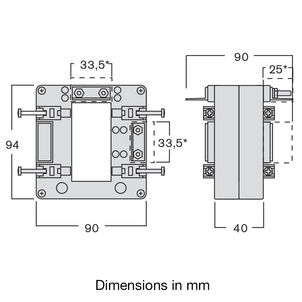CT dimensions - TASL