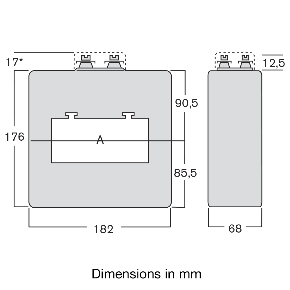 TAWC protection CT dimensions