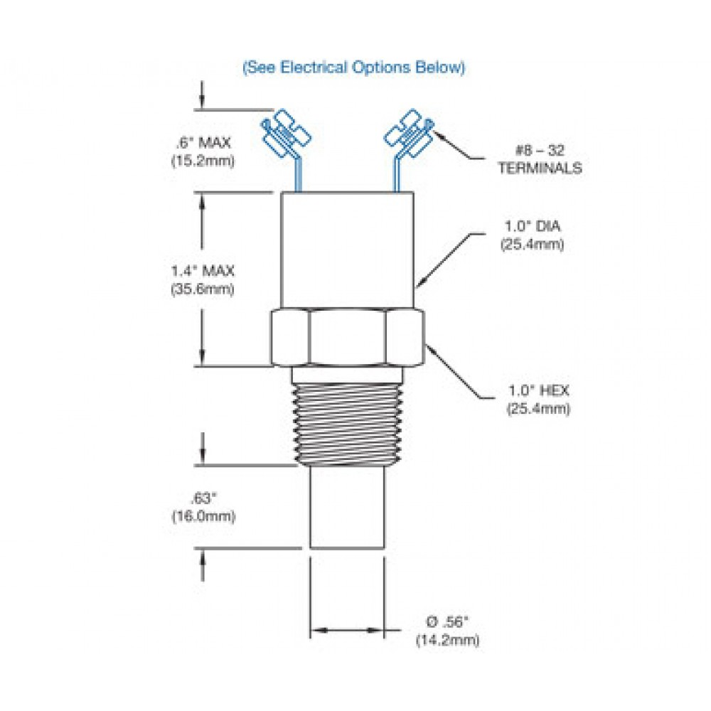 Nason Temperature Switch TD Drawings