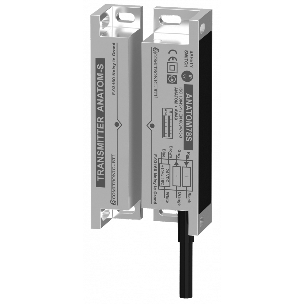 Comitronic-BTI ANATOM78SOX Safety Switch used with Safety Relay
