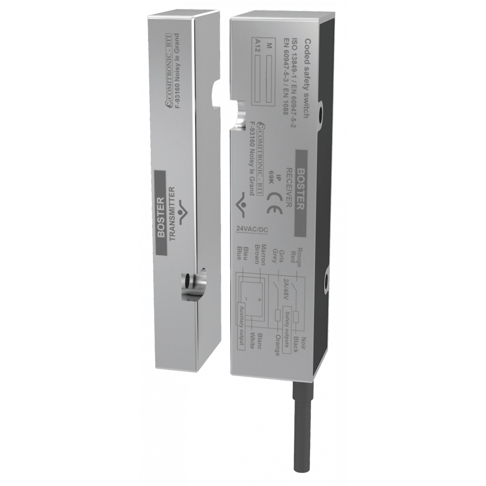 Comitronic-BTI Boster 40N Integrated Stainless Steel Position Control For Doors