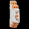 600XU Din Rail 17.5 mm Analogue Multi Function Timer