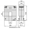 DBP23 Current Transformer Dimensions