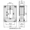 DBP58 Current Transformer Dimensions