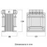 TAEB summation current transformer dimensions