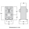 Current transformer type TAIE dimensions