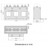 TAS248 current transformer dimensions