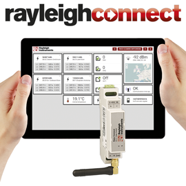 rayleighconnect remote monitoring and control