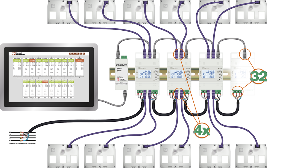 easywire modular system schematic