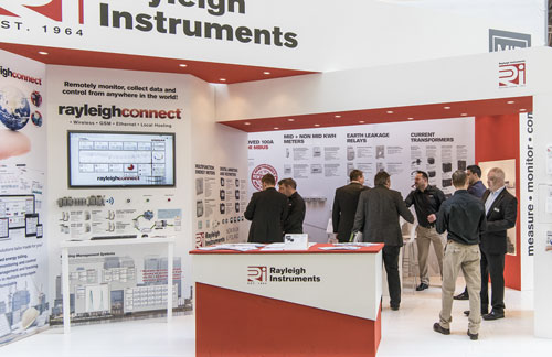 Rayleigh Instruments Exhibition Stand at Hannover Messe 2016