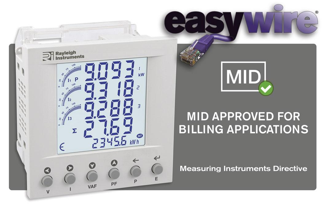 easywire RI-F300 MID Certified Multifunction Plug n Play Meter