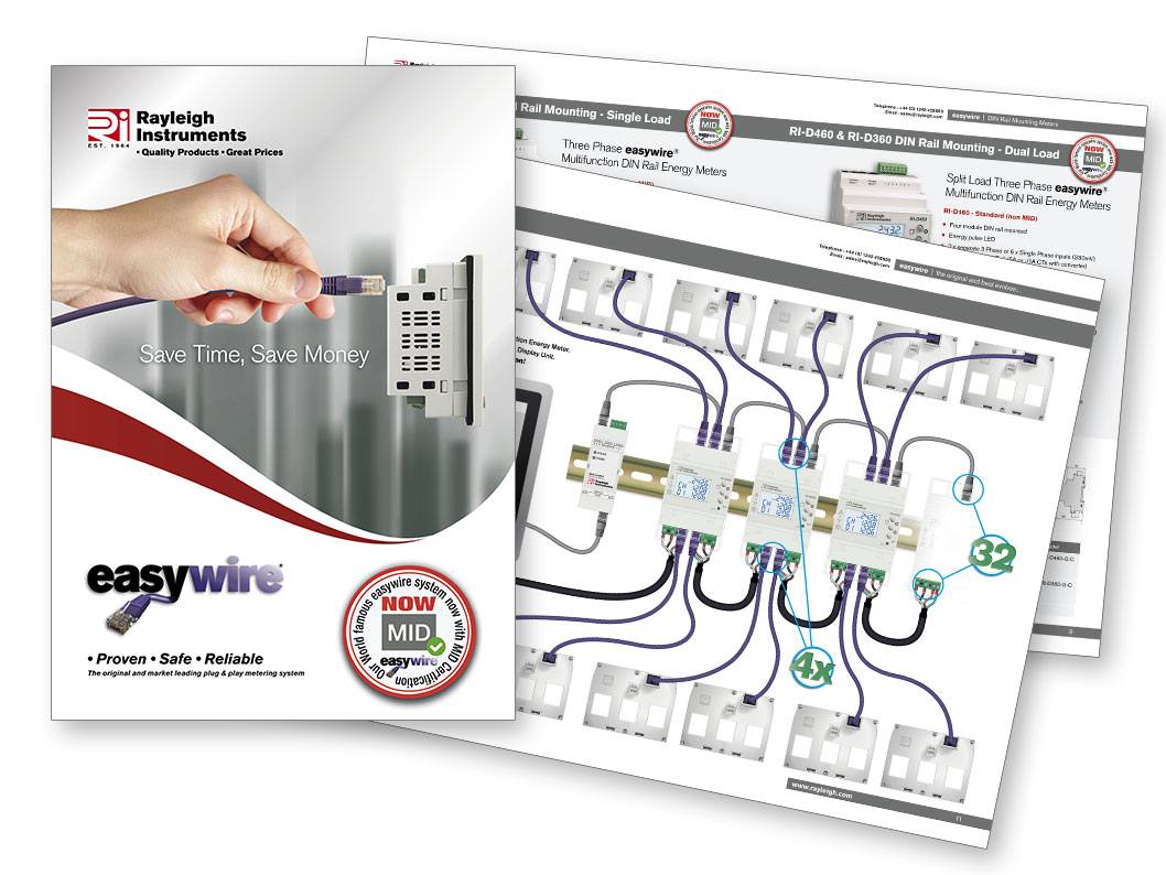 easywire energy meters and current transformers brochure 2019
